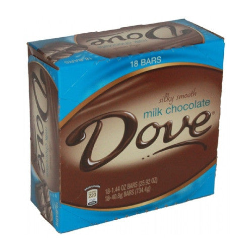 DOVE MILK 18ct. from Miami Candies Sweets & Snacks