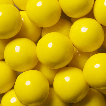 WEDDING & CANDY BUFFET, YELLOW GUMBALLS from Miami Candies Sweets & Snacks