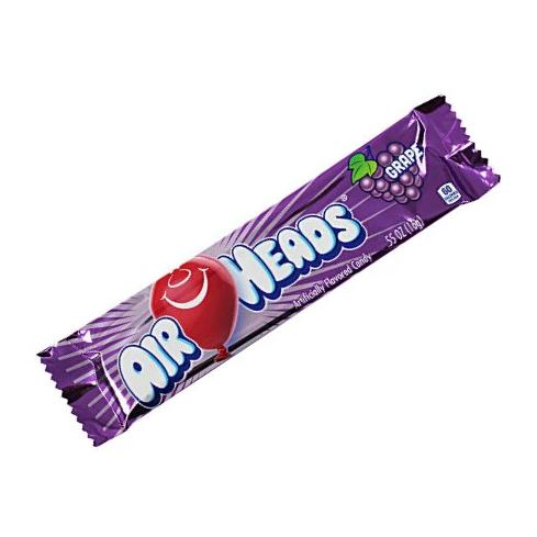 GRAPE AIR HEADS 36 ct from Miami Candies Sweets & Snacks