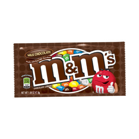 M & M MILK CHOCOLATE 36 CT from Miami Candies Sweets & Snacks