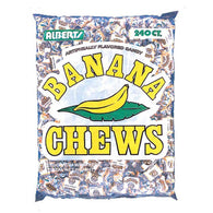 BANANA CHEWS 240ct from Miami Candies Sweets & Snacks