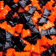 ORANGE & BLACK BAT CANDY PIECES from Miami Candies Sweets & Snacks