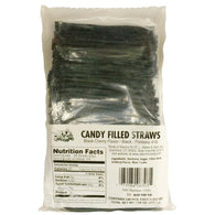 BLACK CHERRY, CANDY FILLED STRAWS from Miami Candies Sweets & Snacks