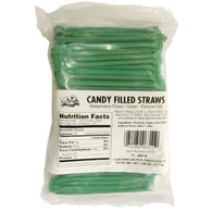 WATERMELON, CANDY FILLED STRAWS from Miami Candies Sweets & Snacks