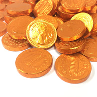 FORT KNOX CHOCOLATE PENNIES in COPPER from Miami Candies Sweets & Snacks
