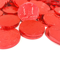 FORT KNOX CHOCOLATE COINS in RED from Miami Candies Sweets & Snacks