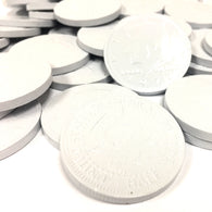 FORT KNOX CHOCOLATE COINS in WHITE from Miami Candies Sweets & Snacks