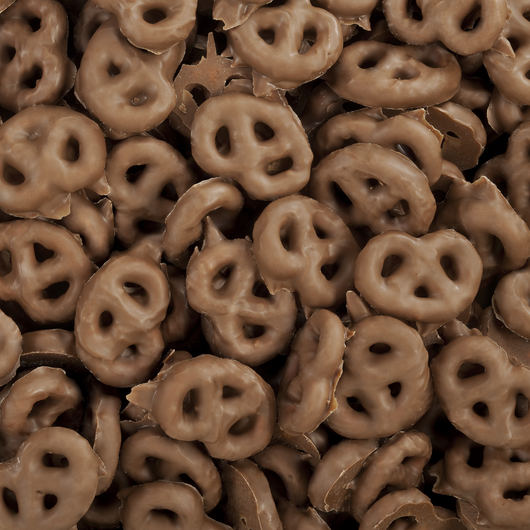 CHOCOLATE COVERED TINY PRETZELS from Miami Candies Sweets & Snacks