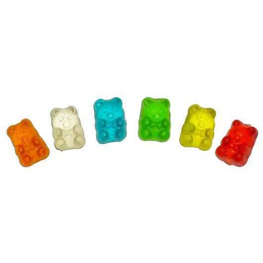ASSORTED MINI GUMMI BEARS | Miami Candies Sweets & Snacks | Bulk Candy