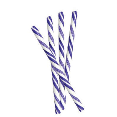 PURPLE, HUCKLEBERRY CANDY STICKS from Miami Candies Sweets & Snacks