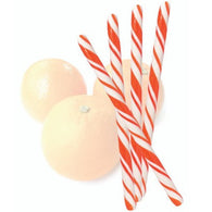 ORANGE FLAVORED CANDY STICKS from Miami Candies Sweets & Snacks