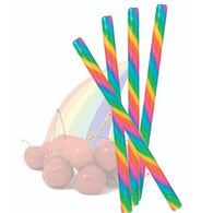 RAINBOW CHERRY CANDY STICKS from Miami Candies Sweets & Snacks