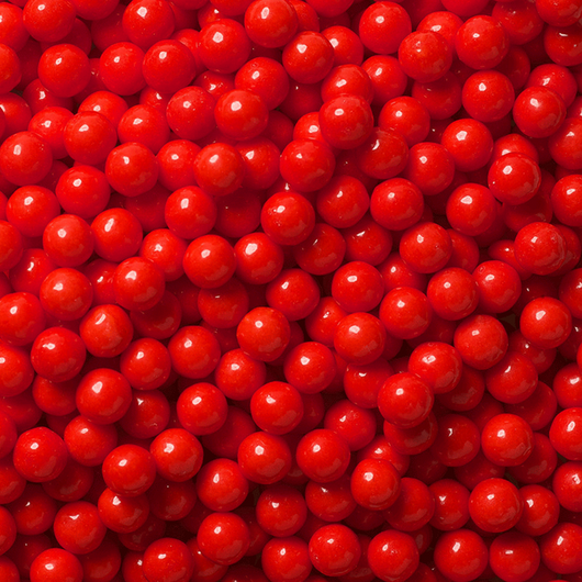 RED CANDY PEARLS from Miami Candies Sweets & Snacks