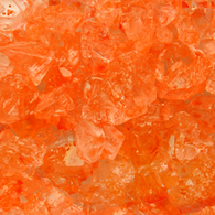 ORANGE ROCK CANDY GEMS from Miami Candies Sweets & Snacks
