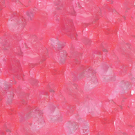 PINK, CHERRY ROCK CANDY GEMS from Miami Candies Sweets & Snacks