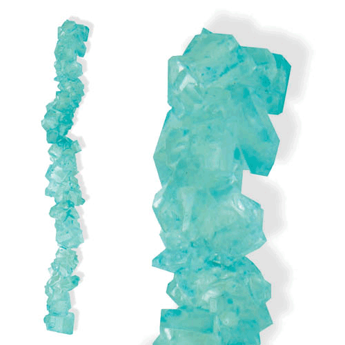 COTTON CANDY ROCK CANDY STRING from Miami Candies Sweets & Snacks
