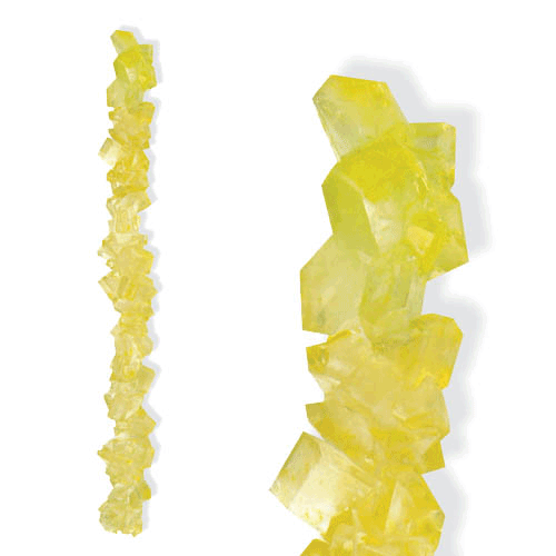 LEMON ROCK CANDY STRING from Miami Candies Sweets & Snacks
