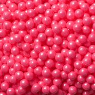 CANDY PEARLS, SHIMMER BRIGHT PINK from Miami Candies Sweets & Snacks