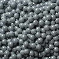 SHIMMER SILVER CANDY PEARLS from Miami Candies Sweets & Snacks