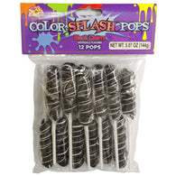 BLACK CHERRY, COLOR SPLASH POPS from Miami Candies Sweets & Snacks