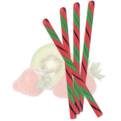 KIWI STRAWBERRY CANDY STICKS from Miami Candies Sweets & Snacks