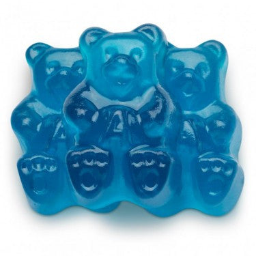 GUMMI BEARS, BLUE RASPBERRY from Miami Candies Sweets & Snacks