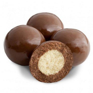 MILK CHOCOLATE, TRIPLE DIPPED MALT BALLS from Miami Candies Sweets & Snacks