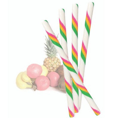 TROPICAL FRUIT CANDY STICKS from Miami Candies Sweets & Snacks