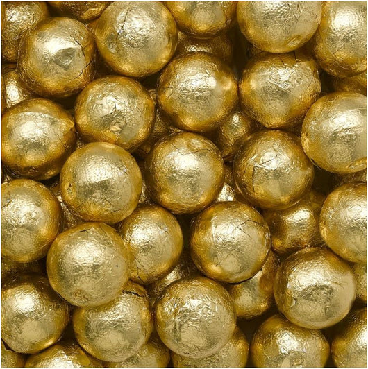 GOLD MILK CHOCOLATE CARAMEL BALLS at Miami Candies