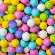 WEDDING & SPECIAL OCCASION CANDY, PASTEL MIX SIXLETS from Miami Candies Sweets & Snacks