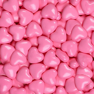 CANDY HEARTS, LIGHT PINK from Miami Candies Sweets & Snacks