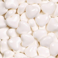 CANDY HEARTS, WHITE from Miami Candies Sweets & Snacks