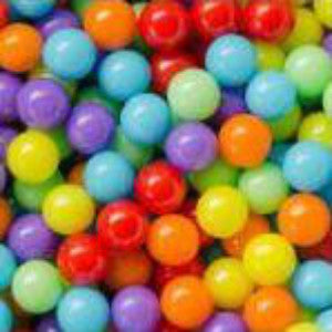RAINBOW MINI JAWBREAKERS from Miami Candies Sweets & Snacks