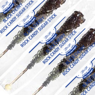 BLACK ROCK CANDY STICKS from Miami Candies