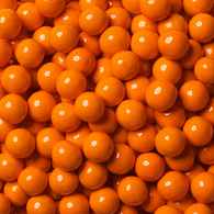 WEDDING CANDY, ORANGE SIXLETS from Miami Candies Sweets & Snacks