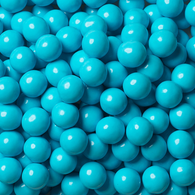 BABY SHOWER CANDY, POWDER BLUE, LIGHT BLUE SIXLETS from Miami Candies Sweets & Snacks