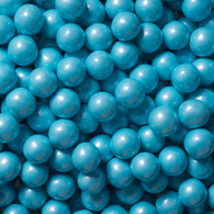WEDDING, BABY SHOWER CANDY, SHIMMER POWDER BLUE SIXLETS from Miami Candies Sweets & Snacks