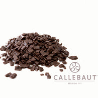 CALLEBAUT CHOCOLATE FLAKES <br> DARK SMALL
