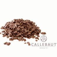 CALLEBAUT CHOCOLATE FLAKES <br> MILK SMALL