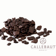 CALLEBAUT CHOCOLATE FLAKES <br> DARK LARGE