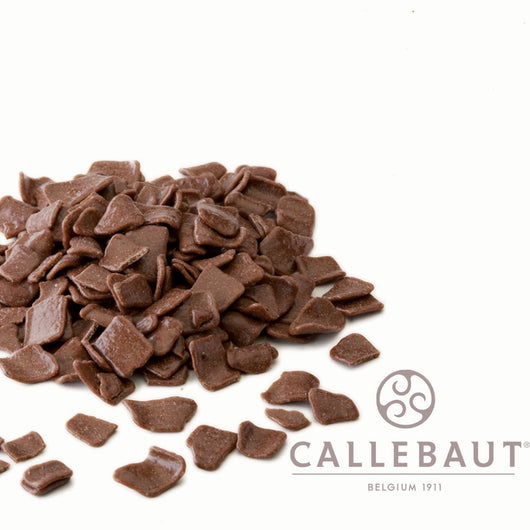 CALLEBAUT CHOCOLATE FLAKES <br> MILK LARGE