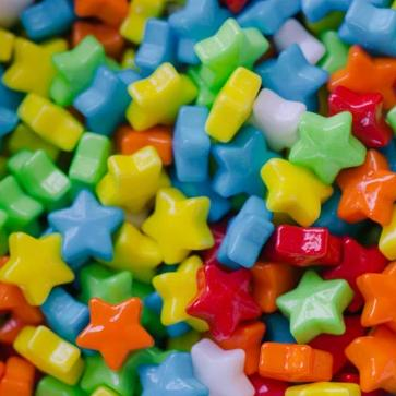 MINIATURE CANDIES - ASSORTED STARS