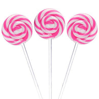 SWIRL POPS - PINK - STRAWBERRY