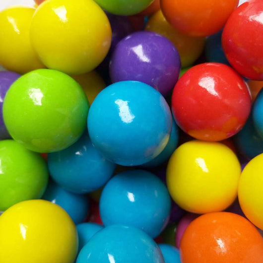 GUMBALLS - ASSORTED BRIGHT<br>(0.5 Inch)