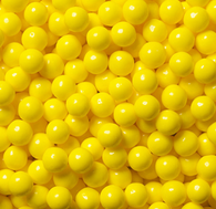 CANDY PEARLS - YELLOW