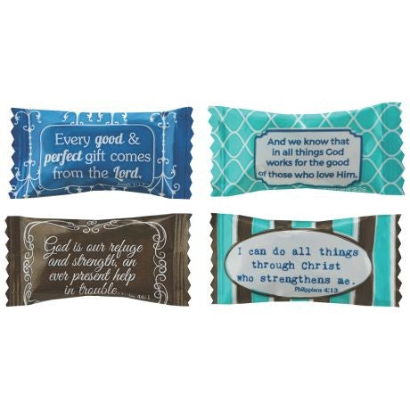 WRAPPED BUTTER MINTS - CHRISTIAN