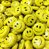 SMILEY FACE FOILED CHOCOLATES