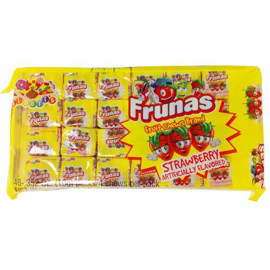 STRAWBERRY FRUNAS from Miami Candies Sweets & Snacks