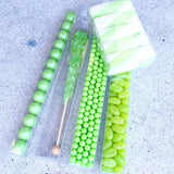 CANDY PEARLS - SHIMMER LIME GREEN