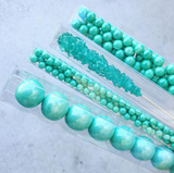 CANDY PEARLS - SHIMMER TURQUOISE